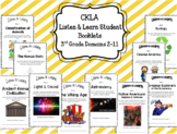 CKLA Core Knowledge Domain Student Booklets ENTIRE YEAR