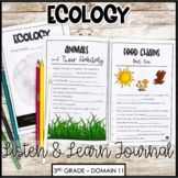 """CKLA Core Knowledge """"Ecology"""" Domain 11 Student Booklet"""