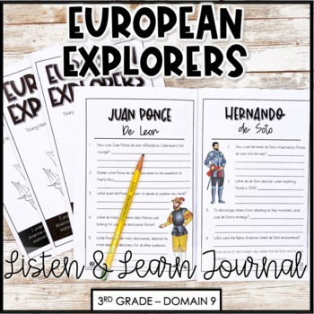 "CKLA Core Knowledge ""European Explorers"" Domain 9 Student Booklet"