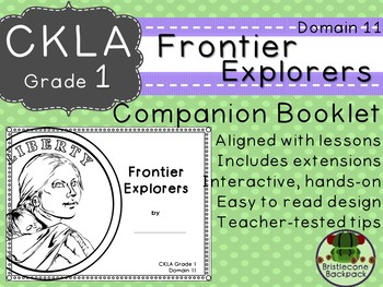 CKLA Core Knowledge First Grade Frontier Explorers Companion Booklet Domain 11