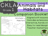 CKLA Core Knowledge Grade 1 Animals and Habitats Domain 8