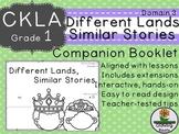 CKLA Core Knowledge Grade 1 Different Lands, Similar Stories Companion Domain 3