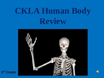 CKLA Core Knowledge Human Body Review Game Domain 3 Grade 3
