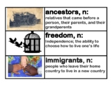 CKLA Core Knowledge Grade 2 Domain 11 Immigration Vocabulary Cards