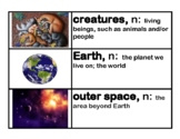 CKLA Core Knowledge Kindergarten Domain 11 Taking Care of Earth Vocabulary Cards