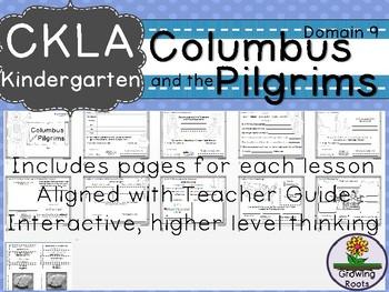 CKLA Core Knowledge Kindie Columbus and the Pilgrims Companion Booklet Domain 9