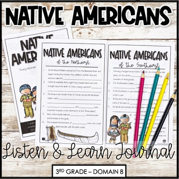 "CKLA Core Knowledge ""Native American"" Domain 8 Student Booklet"