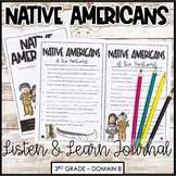 Native American Regions & Cultures Domain 8 Listen and Learn Journal