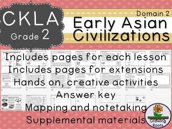 CKLA Core Knowledge Second Grade Early Asian Civilization Companion Domain 2