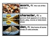 CKLA Core Knowledge Kindergarten Domain 3 Stories Vocabula