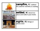 CKLA Core Knowledge Grade 2 Domain 7 Westward Expansion Vocabulary Cards