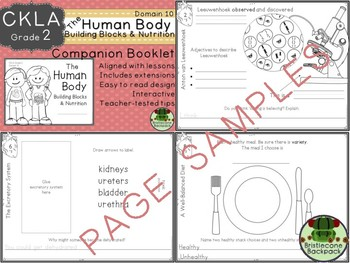 CKLA  D 10 Gr. 2 The Human Body:Build Blocks & Nutrition Companion TEAM LICENSE