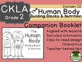 CKLA  D10 2nd Gr The Human Body: Building Blocks and Nutrition Companion Booklet