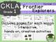 CKLA  D11 1st Grade Frontier Explorers Companion Booklet TEAM LICENSE