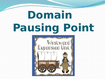 CKLA DOMAIN 7 Pausing point
