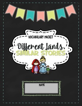 CKLA Different Lands, Similar Stories, Grade 1 Vocabulary Packet
