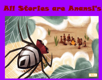 CKLA Domain 1 All Stories are Anansi's