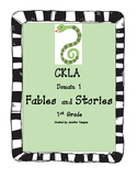 CKLA Domain 1 Fables and Stories First Grade