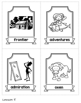 CKLA Domain 1 Fairy Tales and Tall Tales Vocabulary Cards