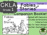 CKLA  Domain 1 First Grade Fables and Stories Companion Booklet