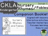 CKLA Domain 1 Kindergarten Nursery Rhymes and Fables Companion Booklet