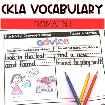 CKLA Domain 1 Vocabulary