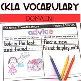 CKLA Domain 1 Vocabulary