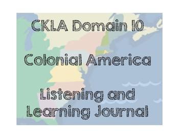 CKLA Domain 10 Colonial America