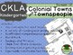CKLA  Domain 10 Kindie Colonial Towns and Townspeople Booklet TEAM LICENSE