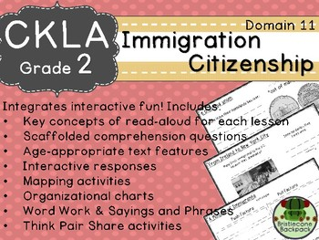 CKLA  Domain 11 2nd  Immigration & Citizenship Companion Booklet TEAM LICENSE