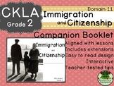CKLA  Domain 11 2nd  Immigration & Citizenship Companion Booklet TEAM LICENSE