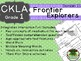 CKLA  Domain 11 First Grade Frontier Explorers Companion Booklet
