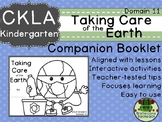 CKLA  Domain 11 Kindergarten Taking Care of the Earth Companion Booklet