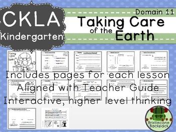 CKLA  Domain 11 Kindergarten Taking Care of the Earth Companion Booklet
