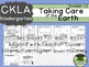 CKLA  Domain 11 Kindie Taking Care of the Earth Companion Booklet TEAM LICENSE
