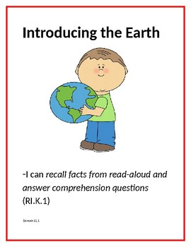 CKLA Domain 11 Learning Standards Taking Care of the Earth