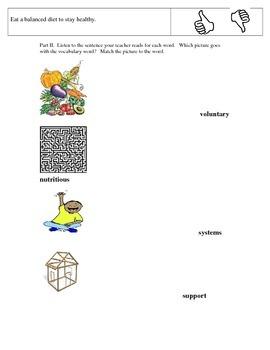 CKLA Domain 2 Alternative Assessment- First Grade