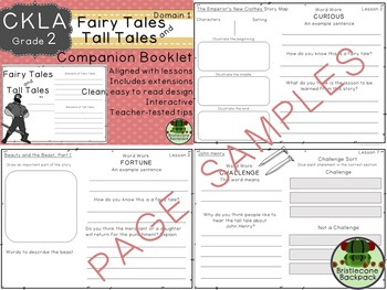 CKLA  Domain 1 Second Grade Fairy Tales and Tall Tales Companion Booklet