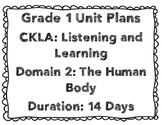 CKLA First Grade Domain 2 Unit Plans