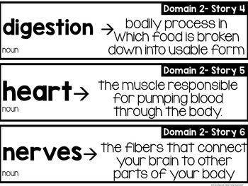 CKLA Domain 2 Vocabulary