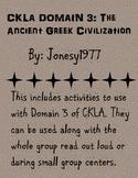 CKLA Domain 3: The Ancient Greek Civilizations 2nd grade
