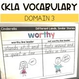 CKLA Domain 3 Vocabulary