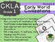 CKLA  Domain 4 First Grade Early World Civilizations Companion Booklet