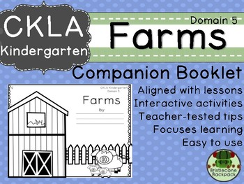 CKLA Domain 5 Kindergarten Farms Companion Booklet
