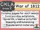 CKLA  Domain 5 Second Grade War of 1812 Companion Booklet