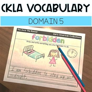 CKLA Domain 5 Vocabulary