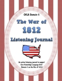CKLA Domain 5 War of 1812 Active Listening Journal