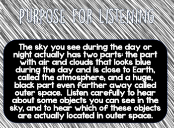 CKLA Domain 6 Listening and Learning Astronomy