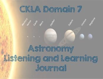 CKLA Domain 7: Astronomy