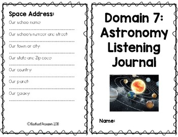 CKLA Domain 7 Astronomy